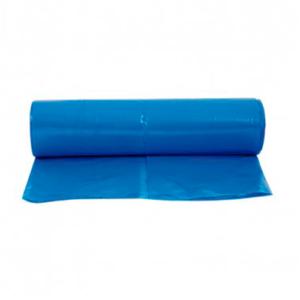 Bolsa azul para la basura